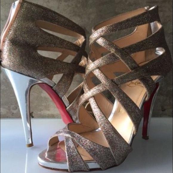 ed5f0a563dc ⭐️SALE⭐️ Christian Louboutin balota heels 38.5